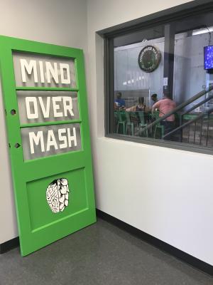 Mind Over Mash Brewing taproom in Brownsburg