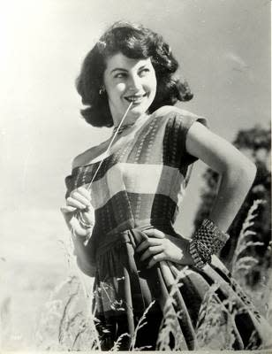 Ava Gardner young