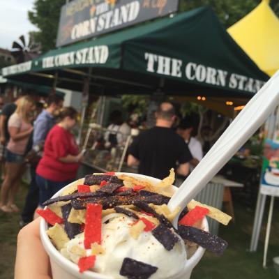 Corn in a Cup Iowa State Fair