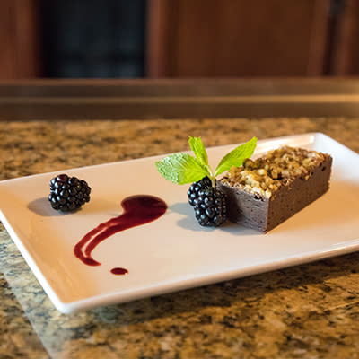 South Coast Winery Resort & Spa Brownie Chilled