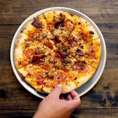 The Carnivore Pizza at Yard House, Promenade in Temecula