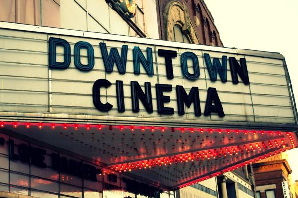 Downtown Eau Claire, Wisconsin Micon Cinema