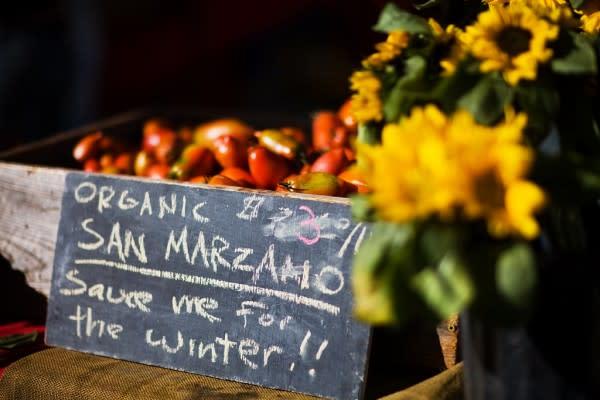 Oakland Farmers Market Flowers