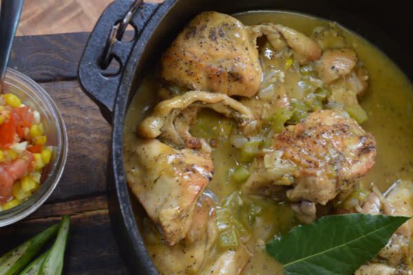 Flip My Food: Smothered Chicken