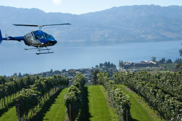 VIP Wine Tours with Valhalla Helicopters