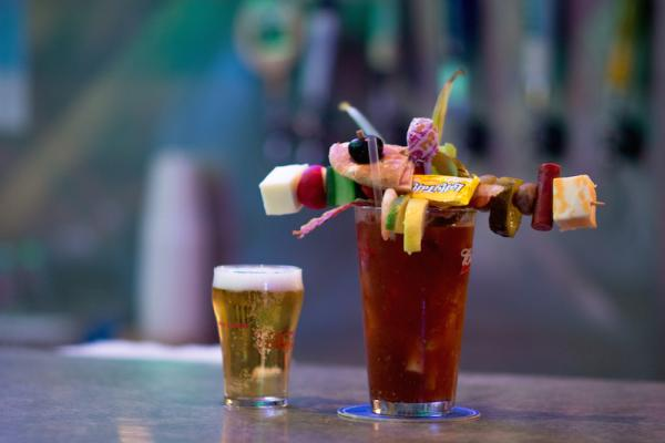 Best Bloody Mary - Big T's Saloon - Photo by: Kelsey Smith