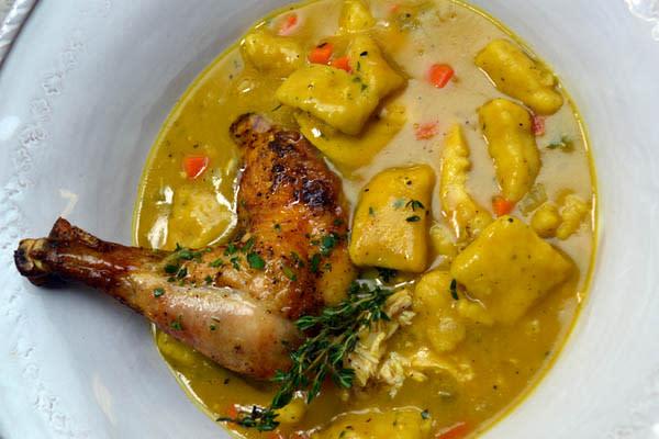 Chicken & Dumplings recipe from Flip My Food