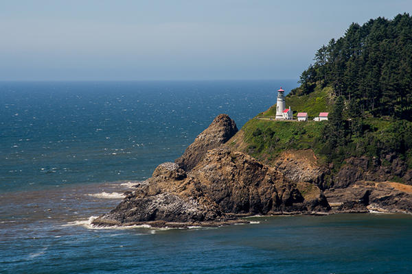 Florence Heceta Head Lighthouse by Thomas Moser