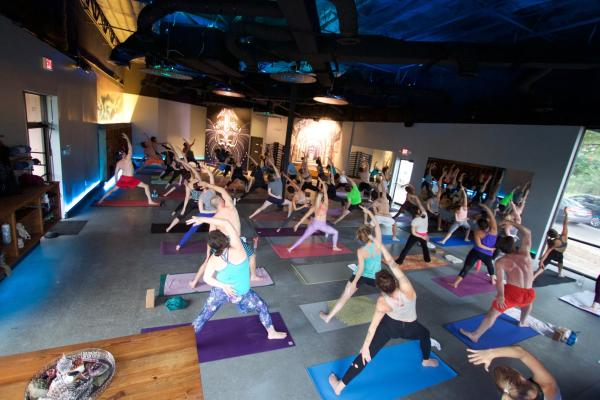 Yoga Class at Black Swan Westgate
