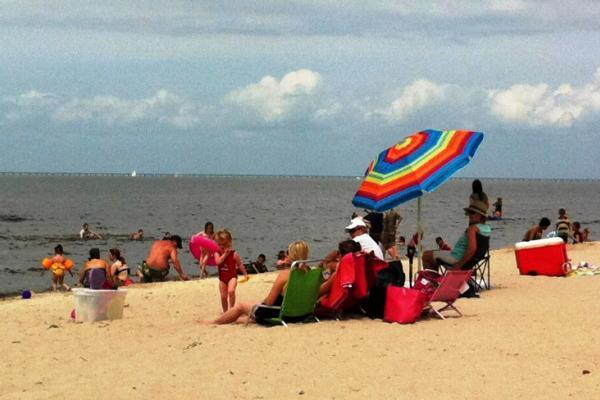 Fontainebleau State Park Beach