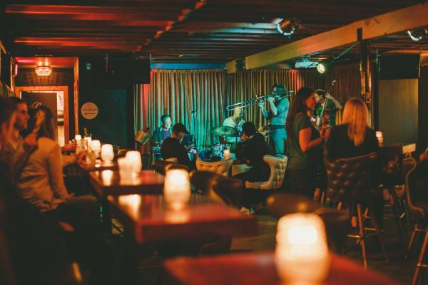Band plays at Stay Gold bar