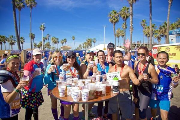 surf city marathon beer