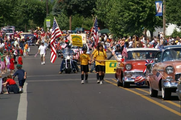 Fourth of July Holiday Parade, Creswell, Willamette Valley by Jim Dopkus
