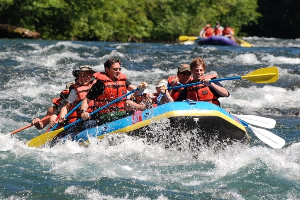 River Rafting the McKenzie River by A Helfrich Outfitter
