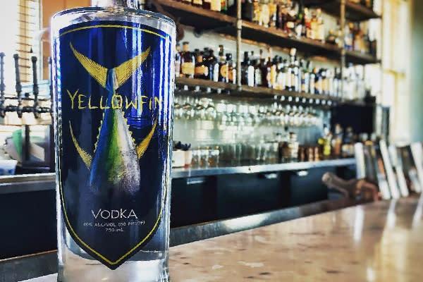 Yellowfin Vodka in Sulphur, LA.
