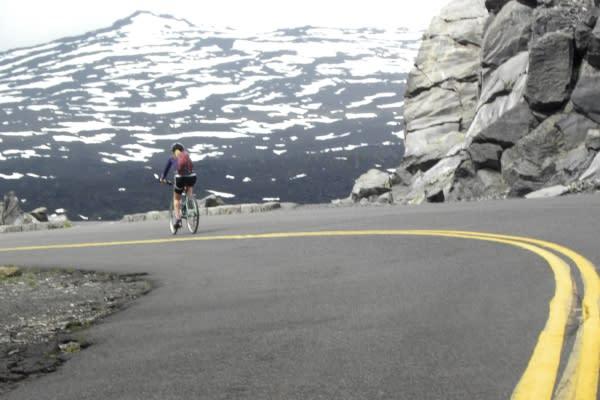 McKenzie Pass Scenic Bikeway by Molly Blancett