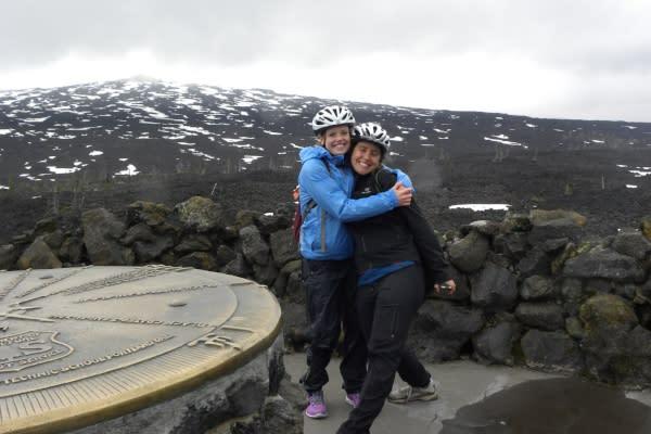 McKenzie Pass Scenic Bikeway Summit by Molly Blancett