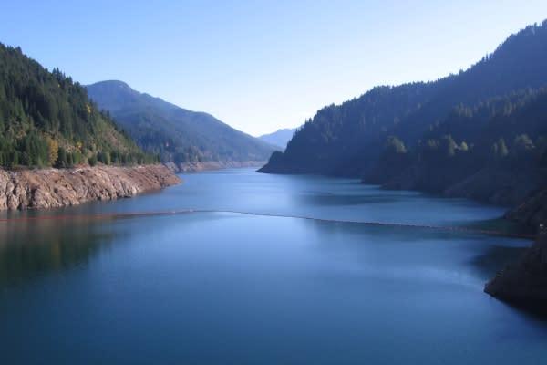 Cougar Reservoir by Andrea Hartman