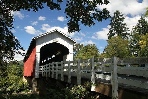 Currin Covered Bridge by Traci Williamson