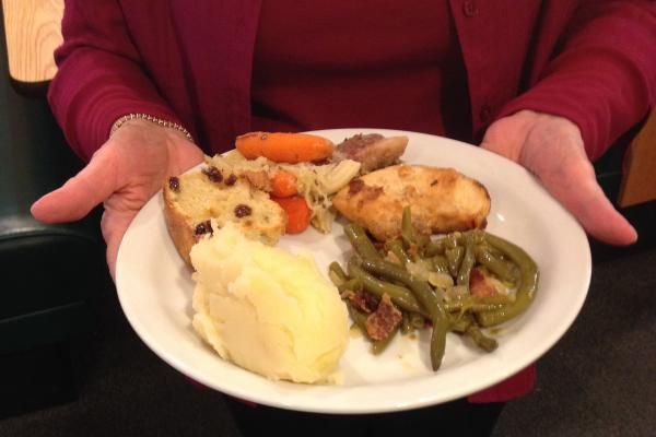Sunny Irish Dinner plate