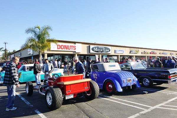 Donuts, Coffee and Classic Cars