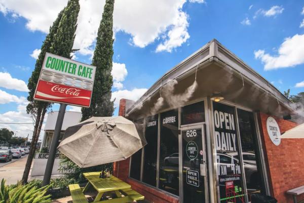 counter cafe exterior