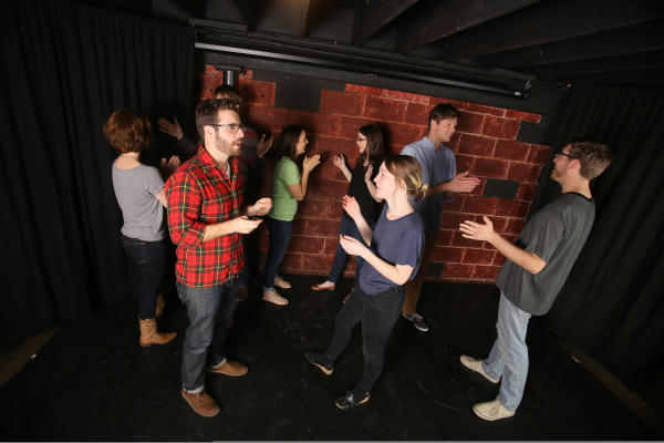 Comedy improv troupe at ColdTowne Theater in Austin