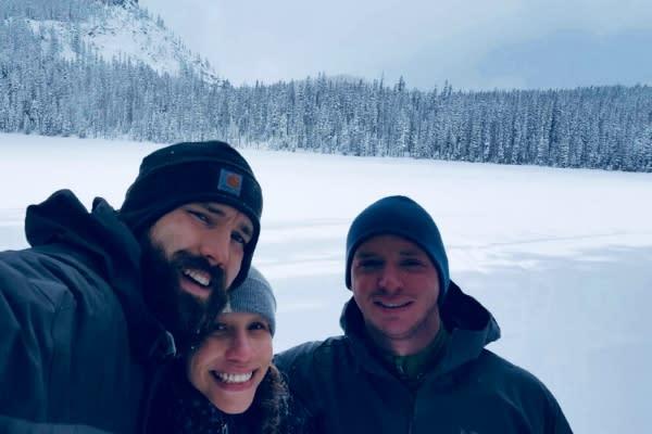 Rosary Lake Snowshoe