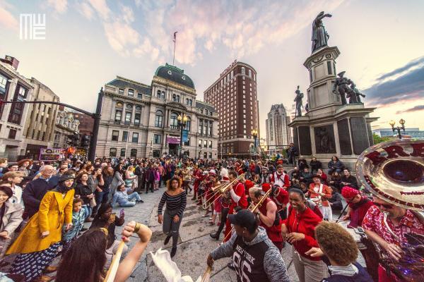 PVDfest Bachata dance world record attendees in Providence RI