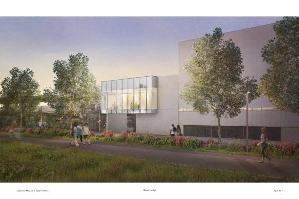 Benaroya Wing expansion at TAM Tacoma Art Museum