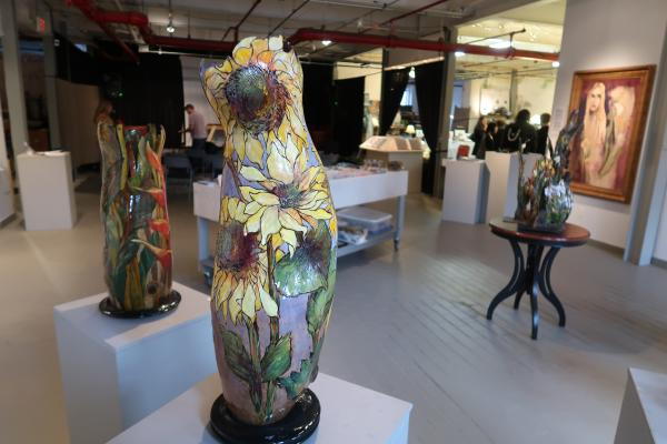 Salisbury Art Station Inside