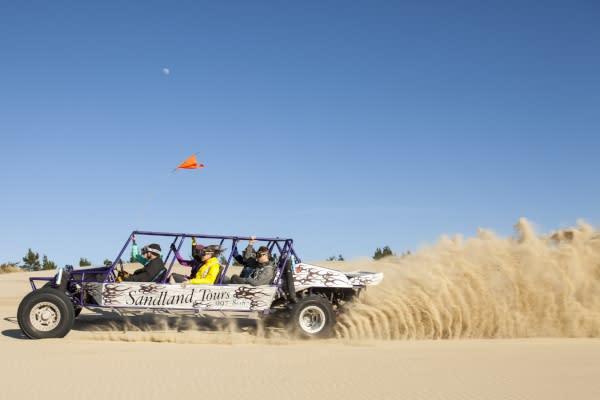 Dune Buggy Ride on the Oregon Coast by Eugene, Cascades & Coast