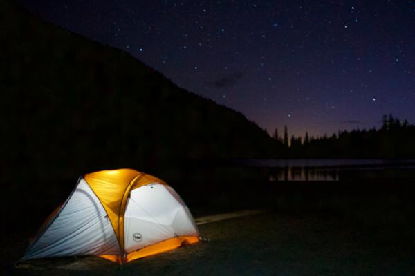 Camping Under the Stars at Linton Lake