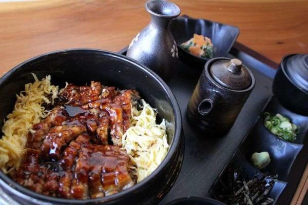 Meal from Zen Japanese Izakaya