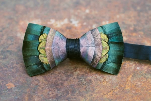 Feather Bowtie
