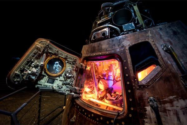 Apollo 11 exhibit_courtesy of NASA and Space Center Houston