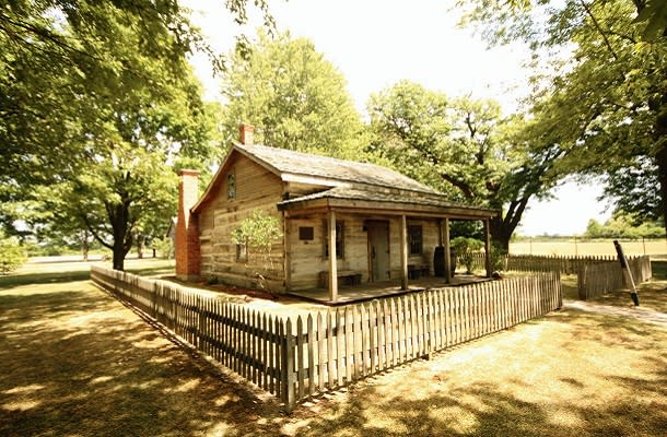 historic building at Buxton