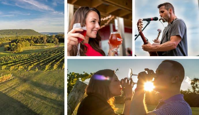Hershey Harrisburg Wine Country in Pennsylvania
