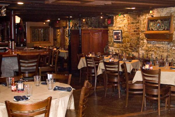 Bourbon Street Hideaway Dining Room