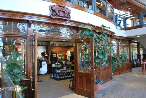 Sierra Navada Brewing Co. Gift Shop on Tour from Sacramento