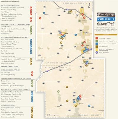 Cultural Trail Map
