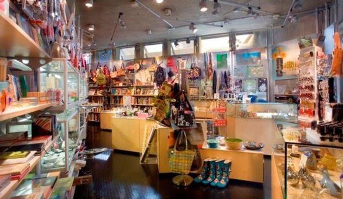 Contemporary Arts Museum Houston Gift Shop store interior