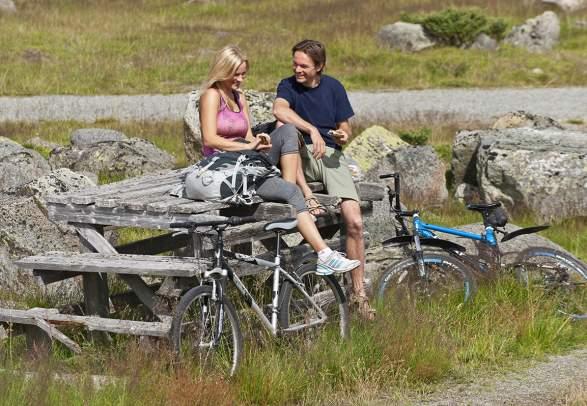 Mjølkevegen cycling route (250 km)