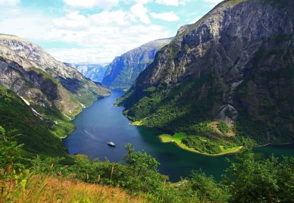 Der UNESCO Nærøyfjord