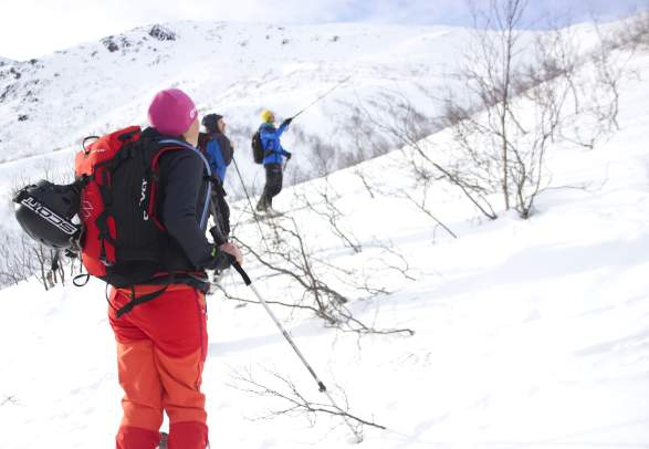 Avalance course with guide in Sunndals mountains