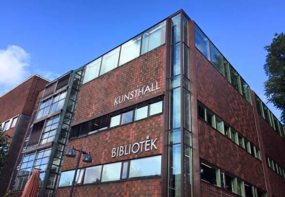 Art exhibition at Kristiansand Kunsthall: Vibeke Slyngstad