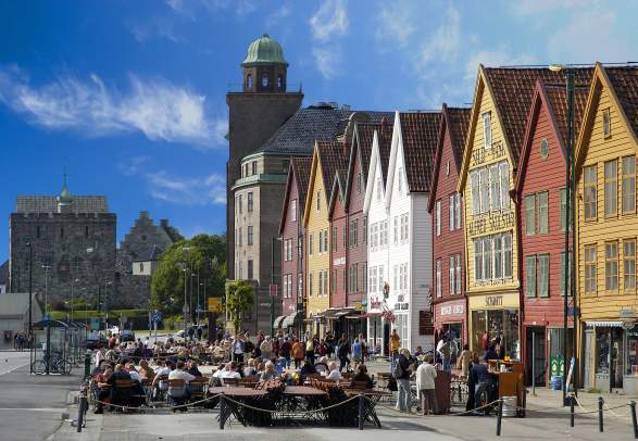 Bryggen in Bergen