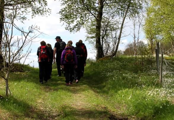 Pilgerwanderung - von Munkeby nach Stiklestad