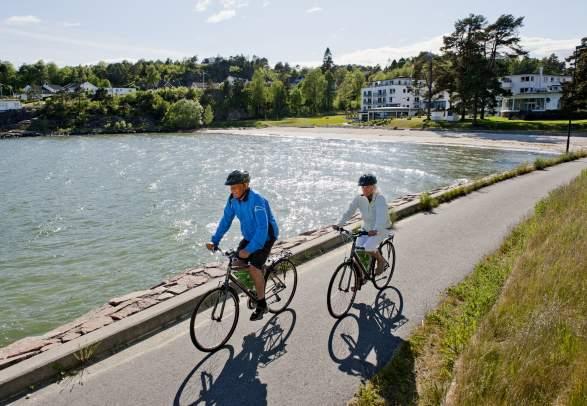 "Sykkeltur ""Flo & fjære"" 37 km"
