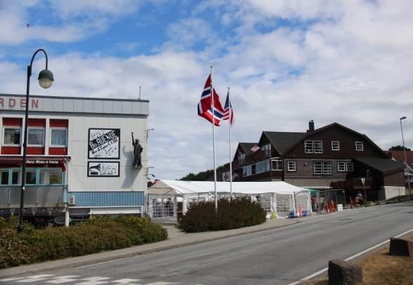 Reiseruten Route 8 i Farsund